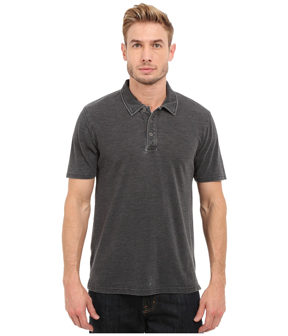 Threads 4 Thought - The Blake Polo (Black) Mens Clothing