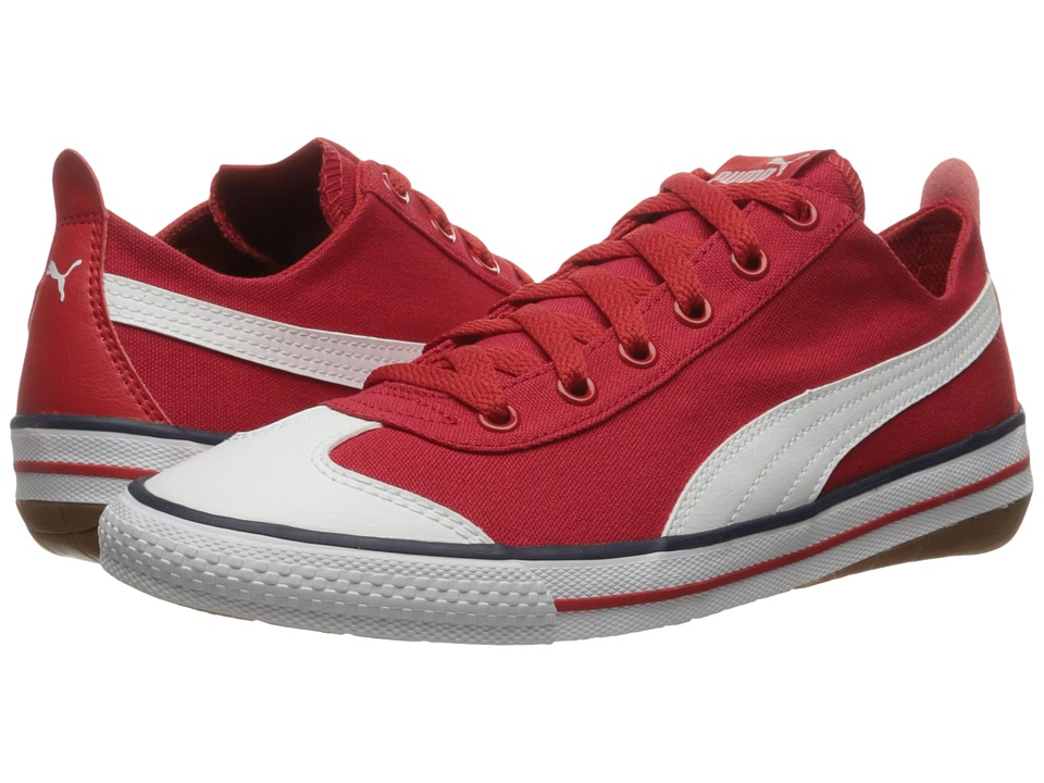 PUMA - 917 Fun (High Risk Red/Puma White) Mens Shoes