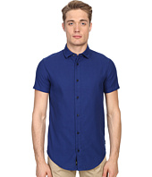 Armani Jeans - Short Sleeve Slim Fit Woven