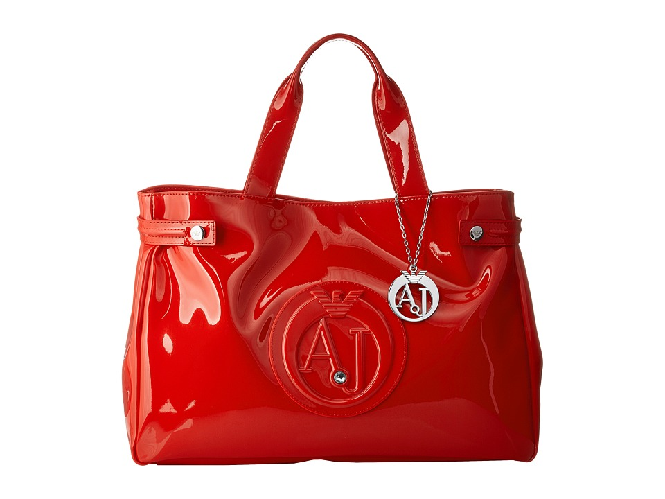 Armani Jeans - Medium Shopping Bag (Red) Bags