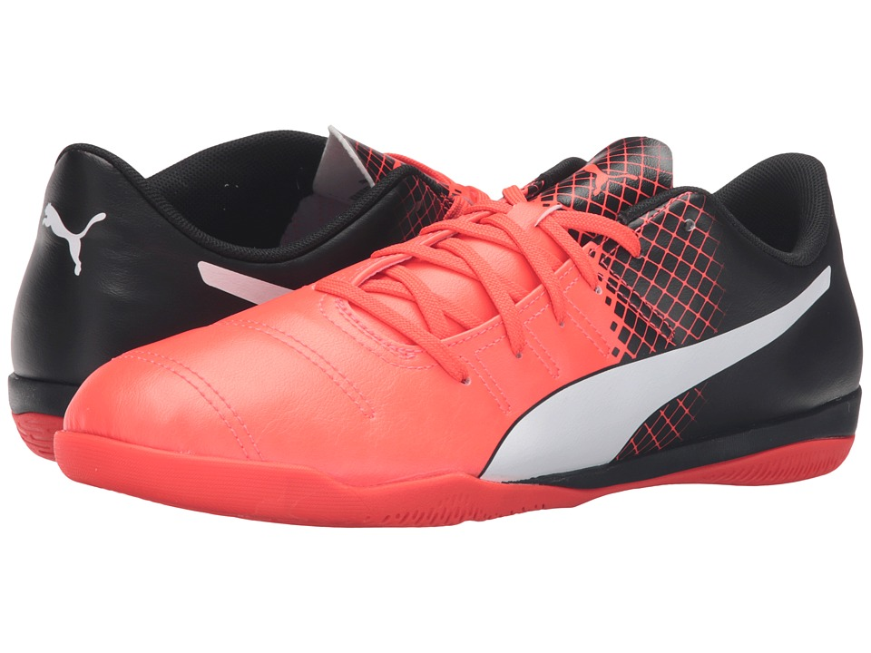 PUMA - evoPOWER 4.3 IT (Red Blast/Puma White/Puma Black) Men