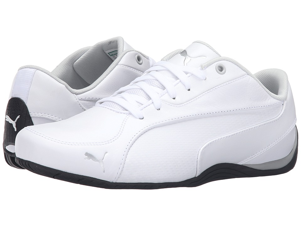 PUMA - Drift Cat 5 Carbon (PUMA White) Men