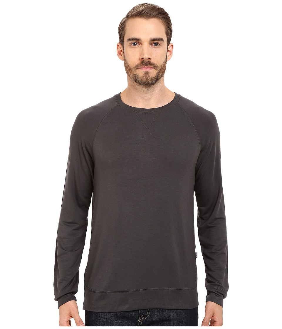 Threads 4 Thought Baseline Raglan Modal Crew Raven Mens Clothing