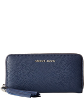 Armani Jeans - Zip Around Wallet with Tassle Detail