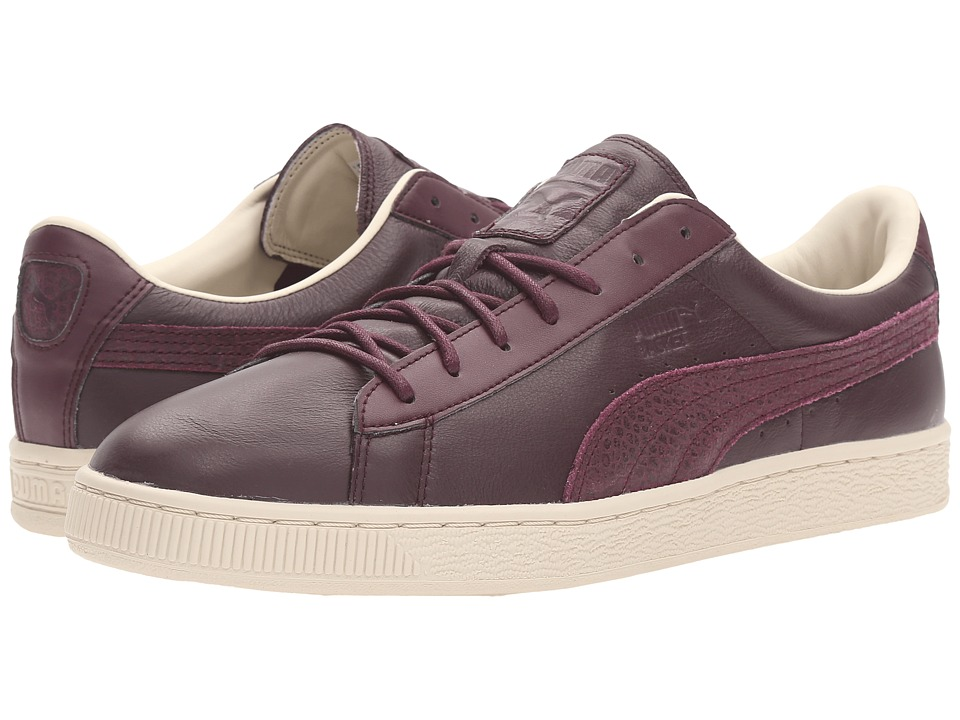 PUMA - Basket Classic Citi (Winetasting) Men