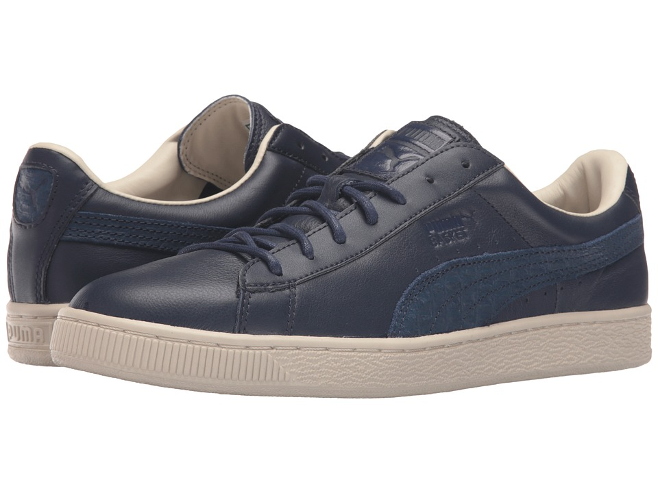 PUMA - Basket Classic Citi (Peacoat) Mens Basketball Shoes