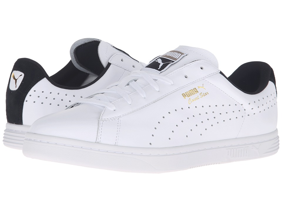 PUMA - Court Star Crafted (Puma White/Puma Black) Men