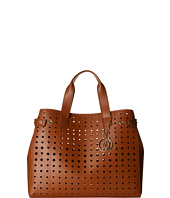 Armani Jeans - Perforated Eco Leather Shopping Bag