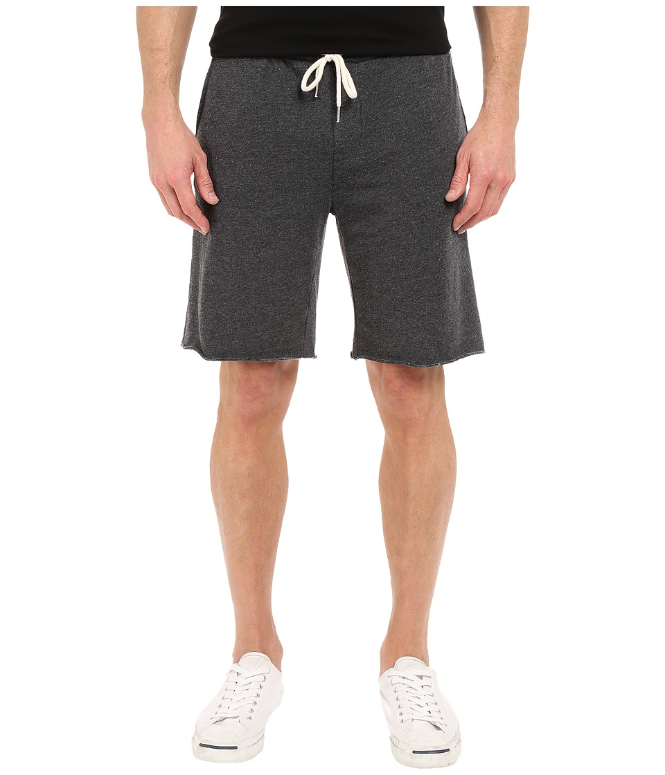 Threads 4 Thought - Burnout Wash Shorts (Black) Mens Shorts
