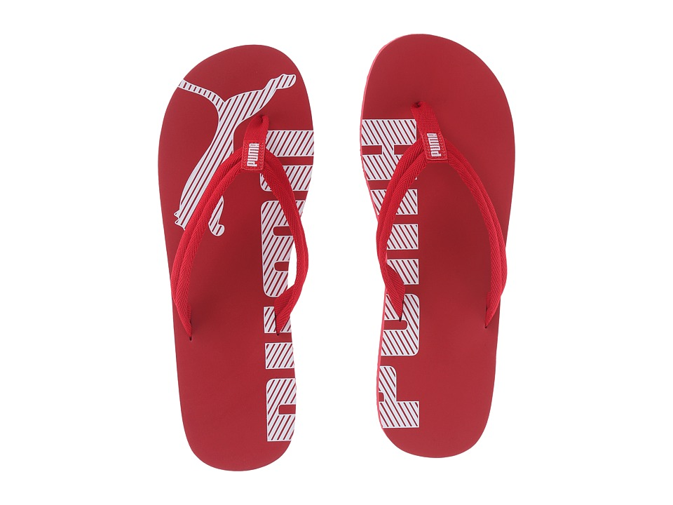 PUMA - Epic Flip V2 (Barbados Cherry/Puma White) Men