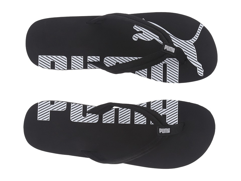 PUMA - Epic Flip V2 (Black/White) Men