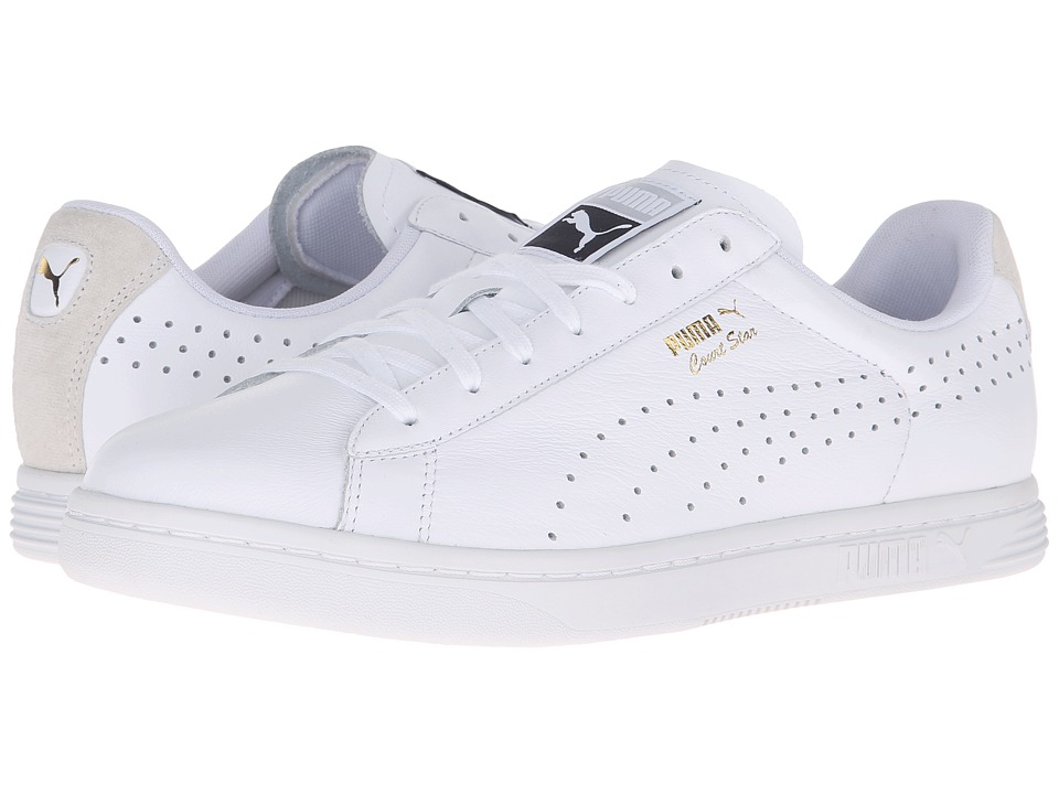 PUMA - Court Star Crafted (Puma White/Puma White) Men