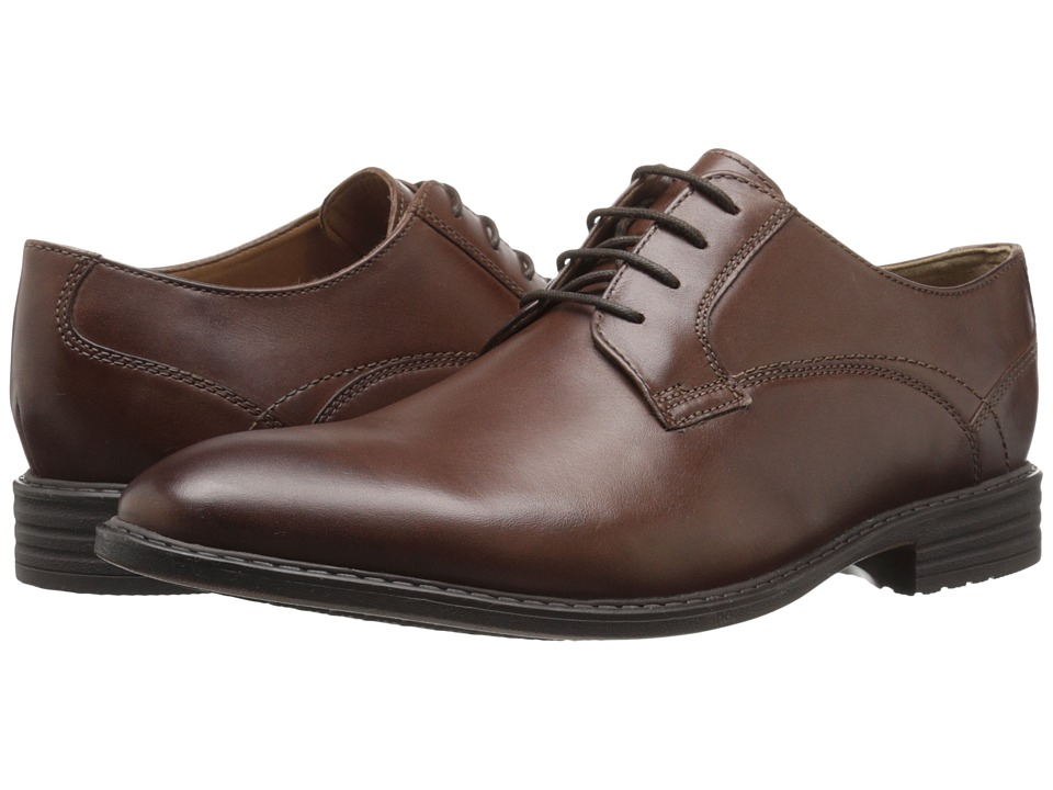 Bostonian - Garvan Plain (Mahogany Leather) Men