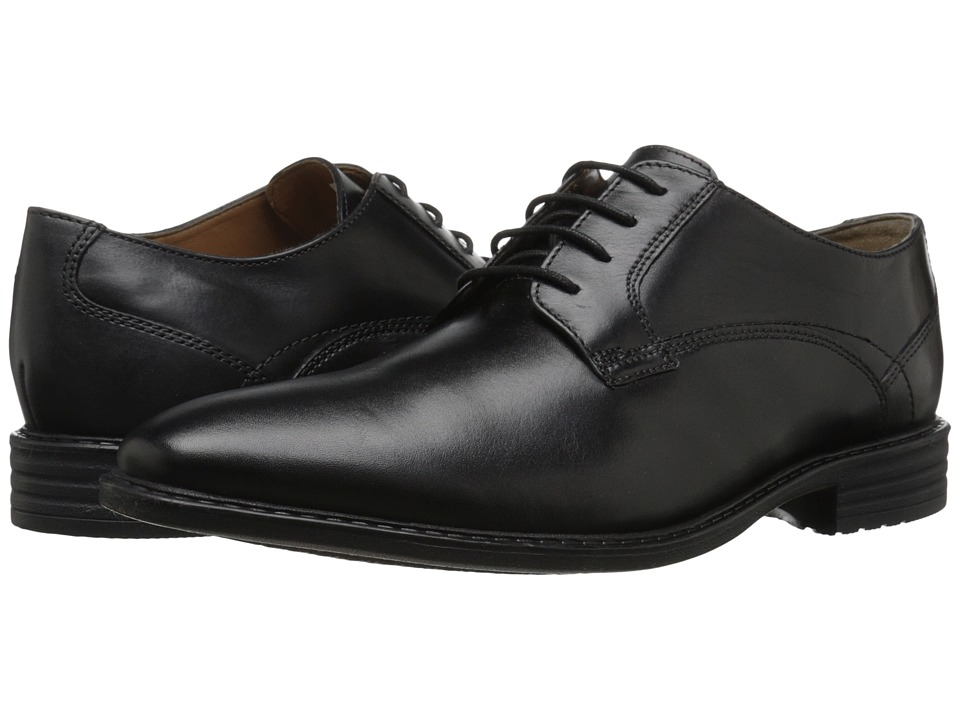 Bostonian - Garvan Plain (Black Leather) Men