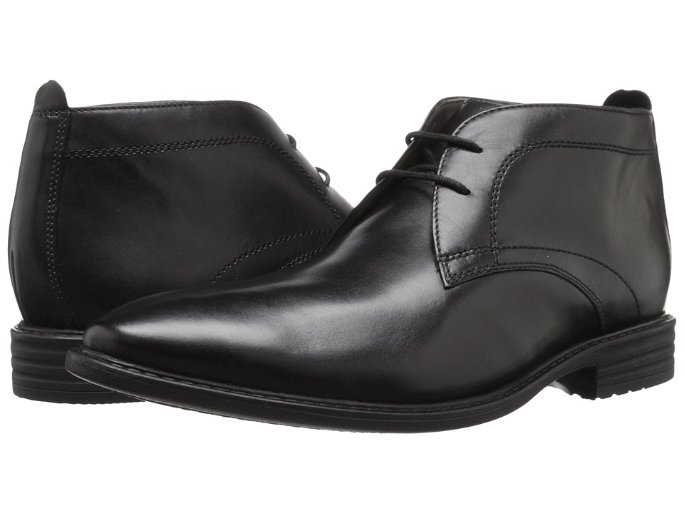 Bostonian - Garvan Mid (Black Leather) Men