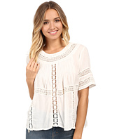 Amuse Society - Clover Woven Short Sleeve Top