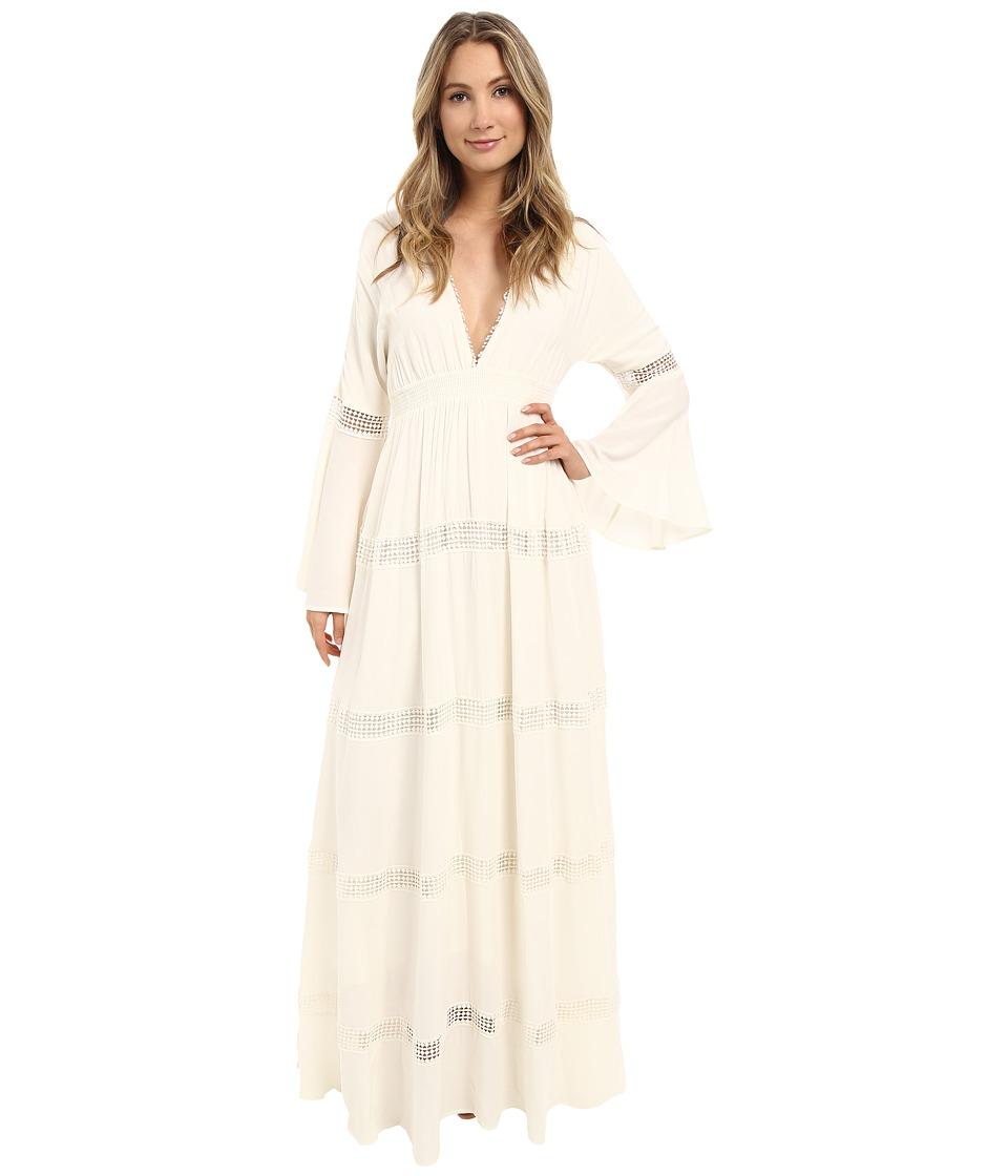 The Jetset Diaries Hammock Maxi Dress Ivory Womens Dress