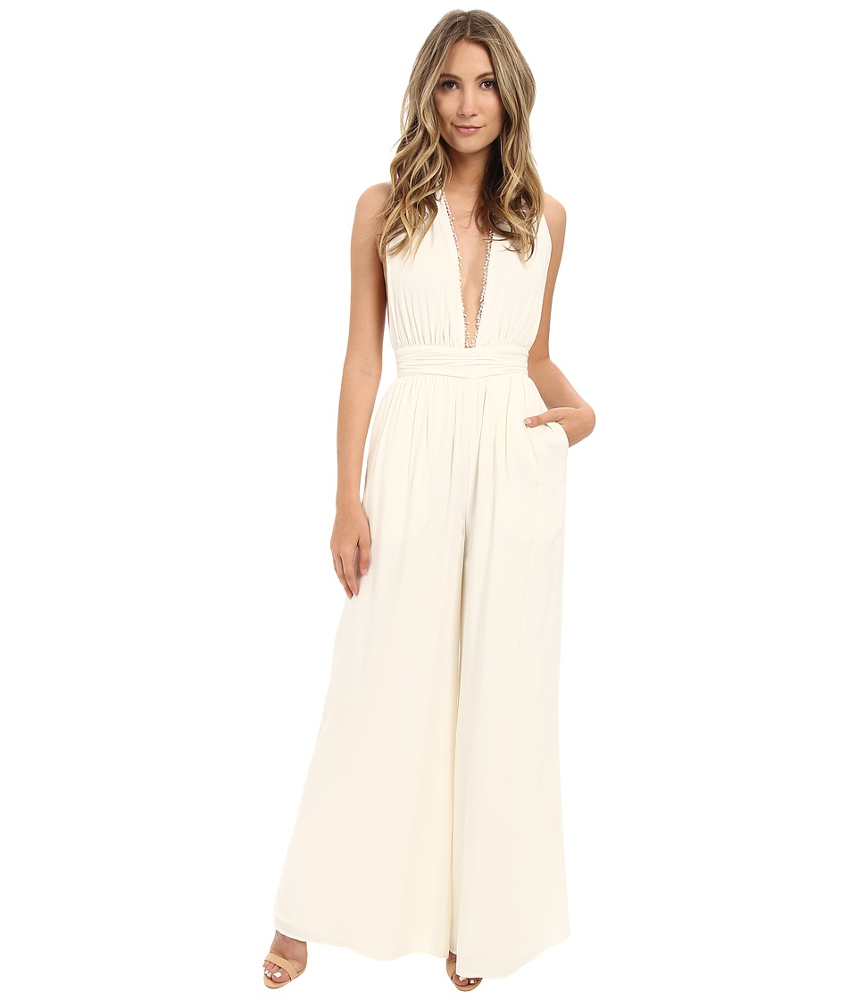The Jetset Diaries Hammock Jumpsuit Ivory Womens Jumpsuit Rompers One Piece