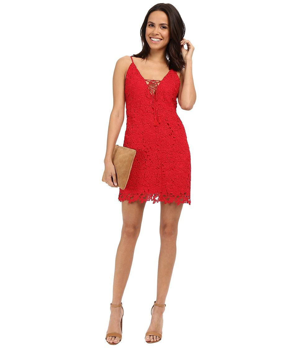 The Jetset Diaries Private Beach Mini Dress Crimson Womens Dress