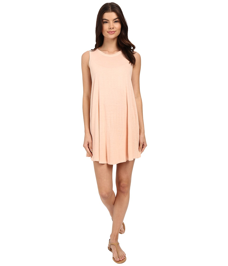 Amuse Society Alexi Tank Dress Peach Womens Dress