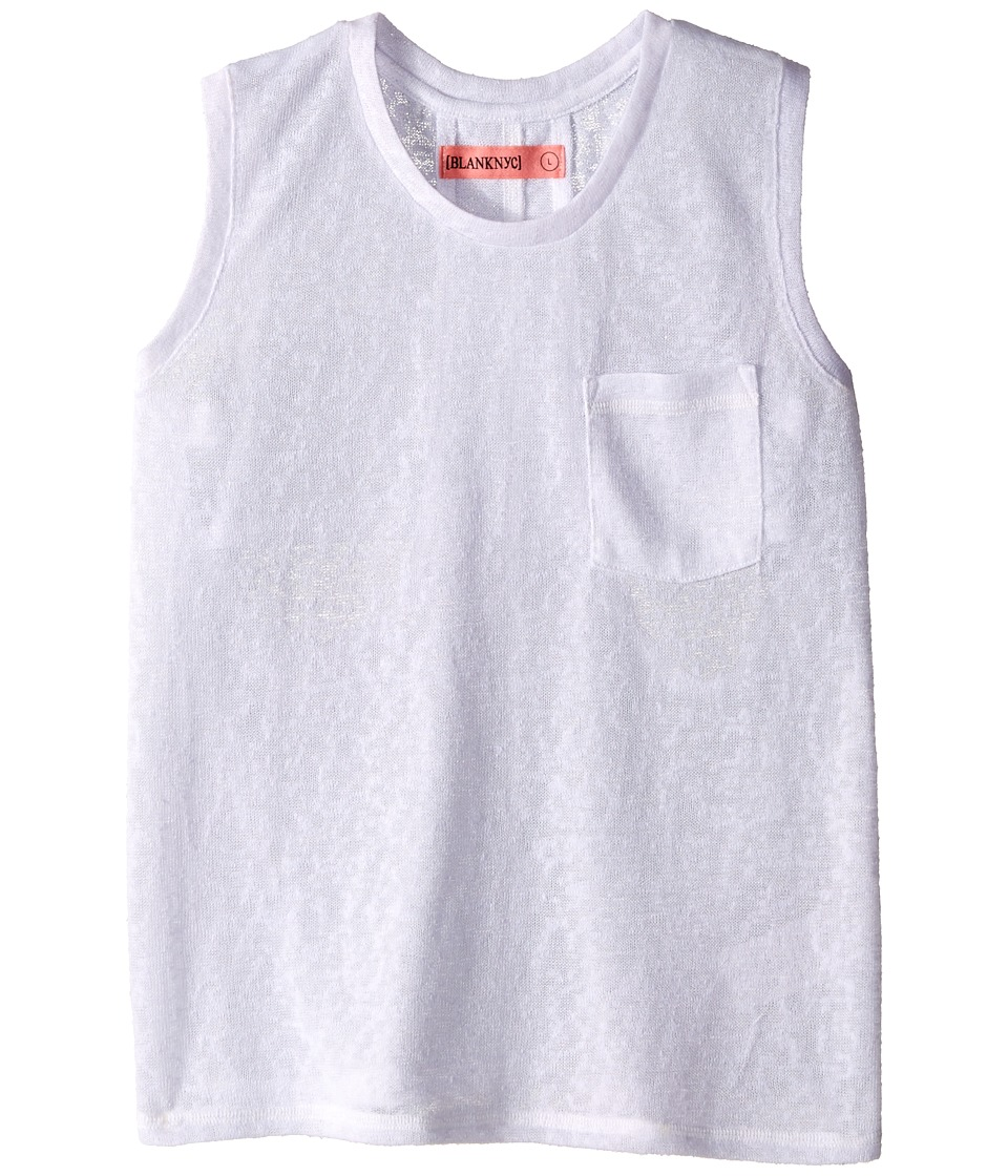 Blank NYC Kids Tank Top in Are You Jelly Little Kids/Big Kids White Girls Sleeveless