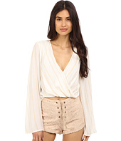 The Jetset Diaries - El Dorado Wrap Top