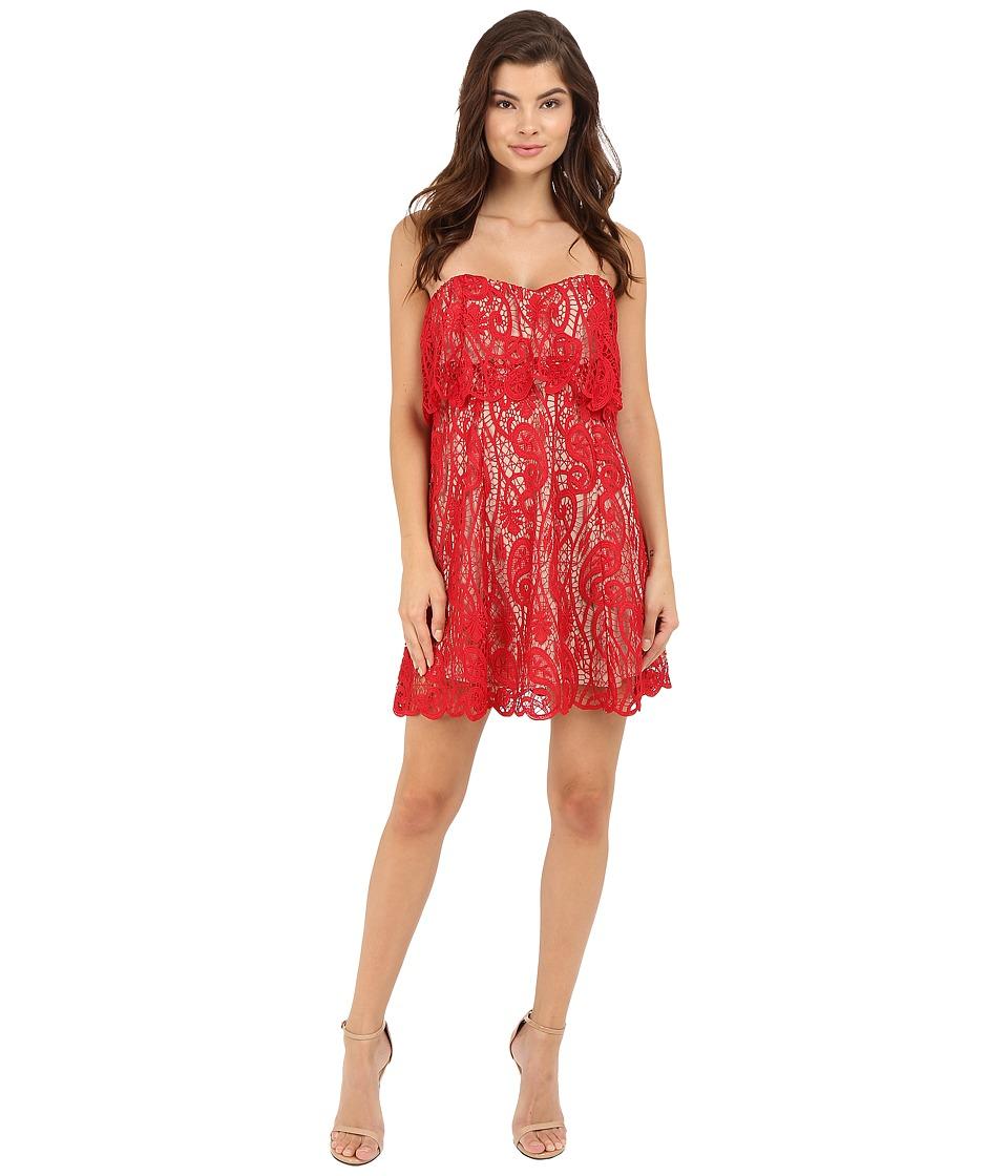 The Jetset Diaries Lolita Mini Dress Crimson Womens Dress