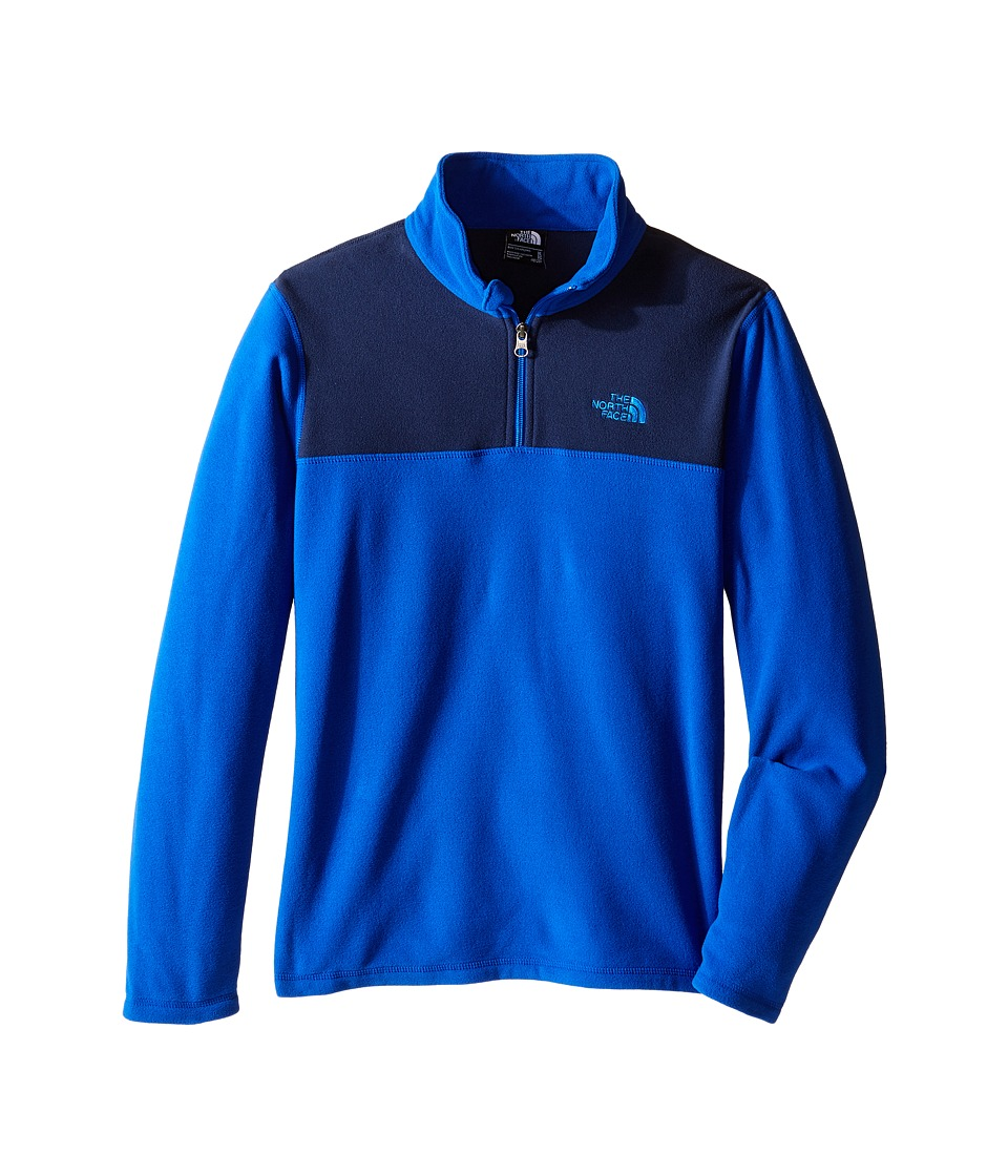 The North Face Kids - Glacier 1/4 Zip (Little Kids/Big Kids) (Honor Blue) Boy