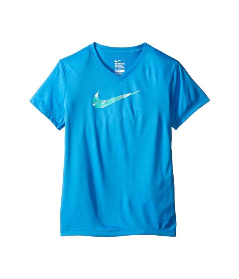 Nike Kids Legend V-Neck Swoosh Fill Tee (Little Kid/Big Kid)