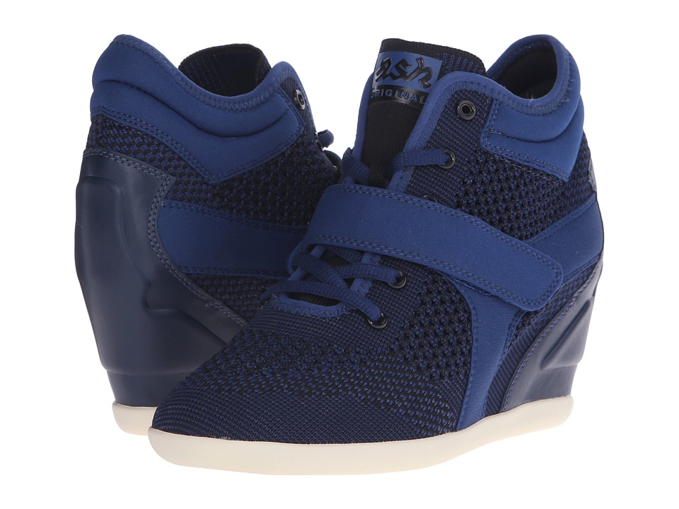 ASH Bebop Ocean Multi/Knit/Plain Neoprene Womens Lace up casual Shoes
