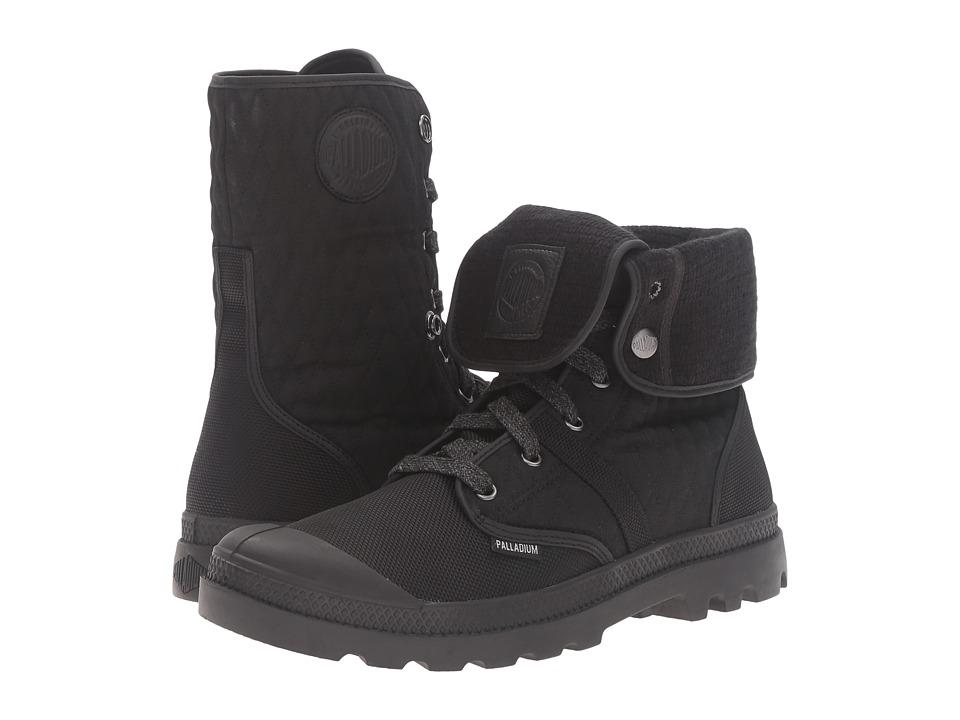 Palladium Pallabrouse Bgy Felt (Black/Vapor) Lace-up Boots