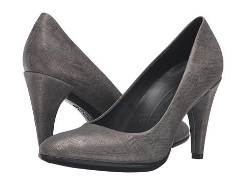 ECCO Shape 75 Sleek Pump - Warm Grey Calf Leather