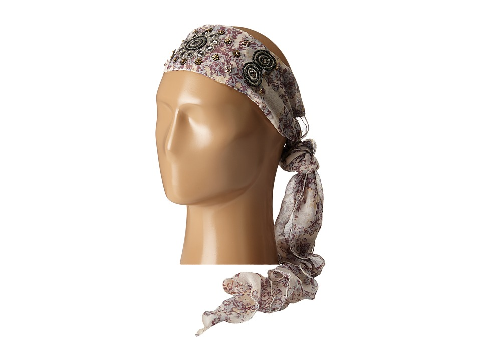 BCBGeneration My Crown Headscarf Champagne Scarves