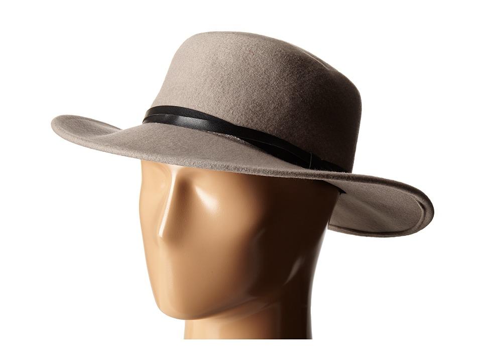 BCBGeneration Felt Gaucho Hat Taupe Cowboy Hats