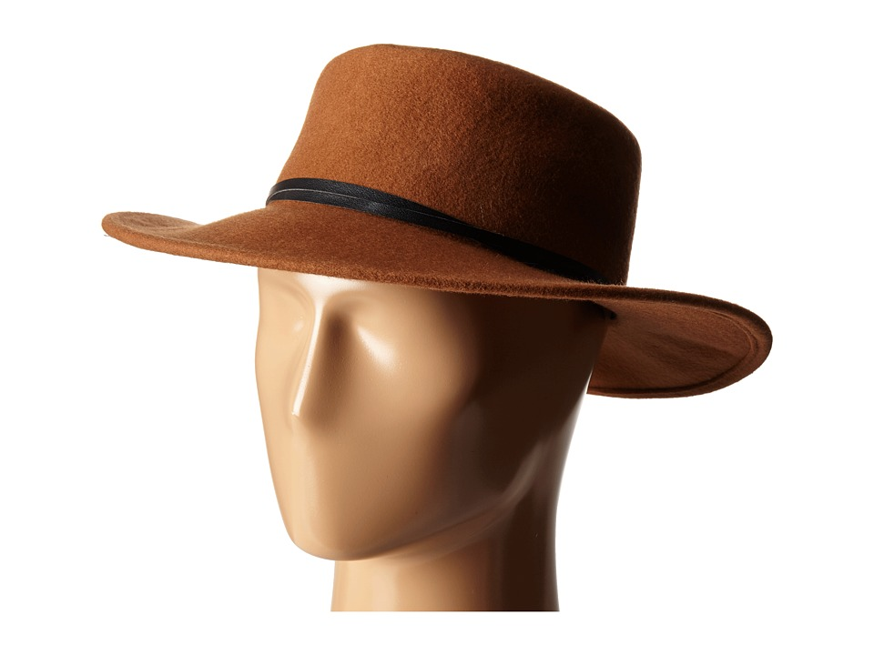 BCBGeneration Felt Gaucho Hat Cognac Cowboy Hats