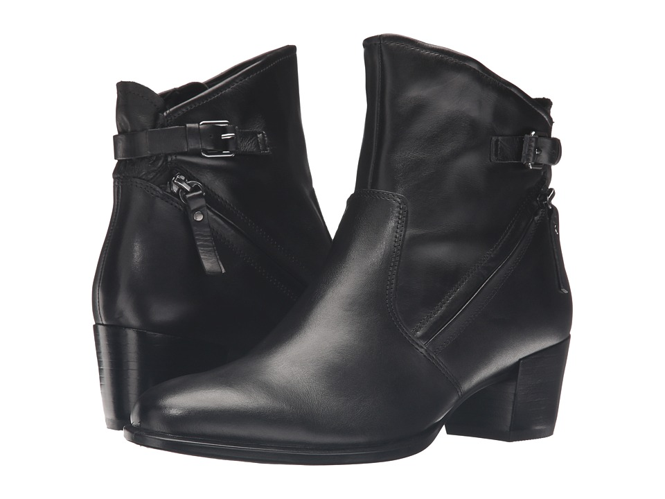 ECCO - Shape 35 Ankle Boot (Black Cow Leather) Women