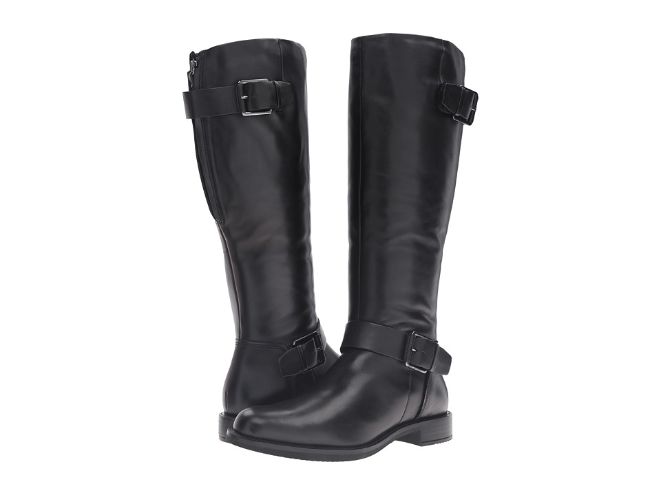 ECCO - Shape 25 Tall Boot (Black Cow Leather) Women