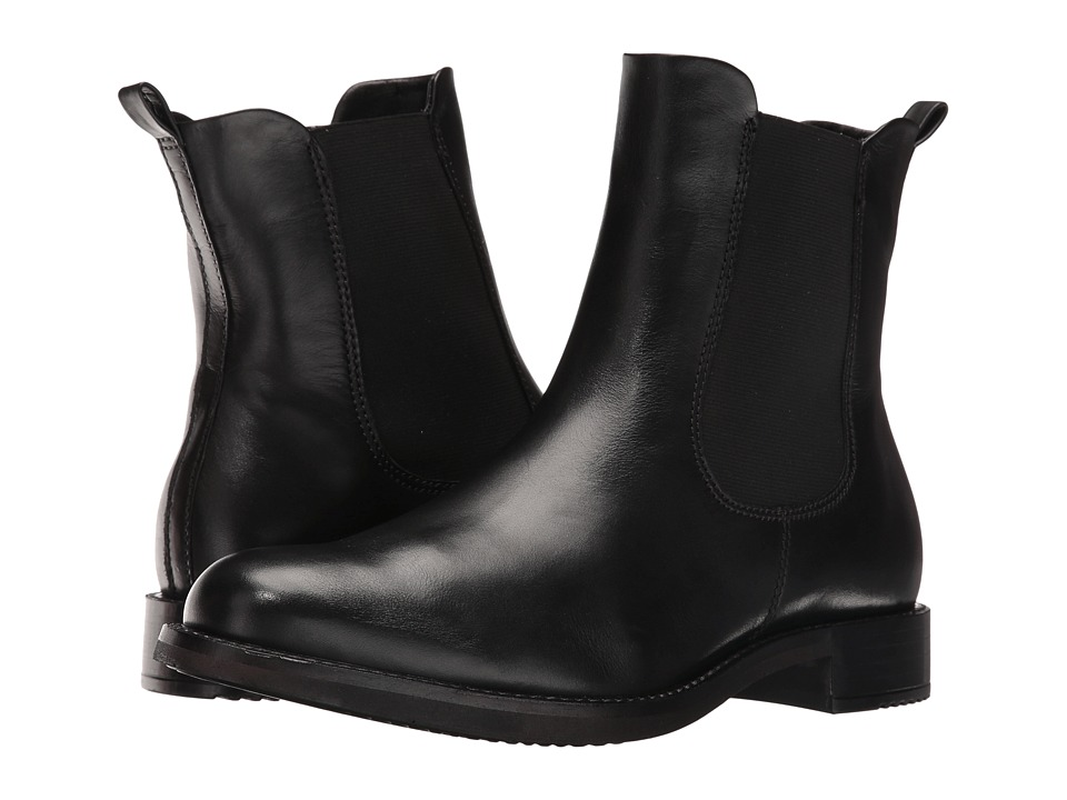 ECCO Shape 25 Ankle Boot (Black Cow Leather) Women