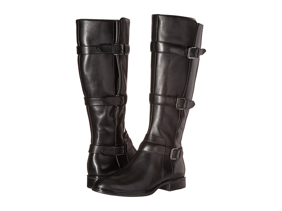 ECCO - Chelsea 20 Tall Boot (Black Cow Leather) Women