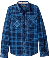 O'Neill Kids - Glacier Plaid Long Sleeve Shirt (Big Kids)