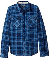 O'Neill Kids - Glacier Plaid Long Sleeve Shirt (Big Kids)