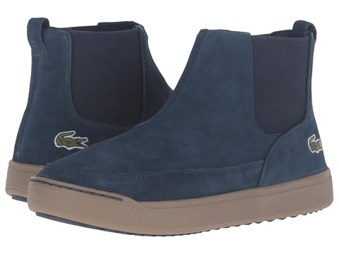Lacoste Kids Explorateur Chelsea 316 2 CAJ (Little Kid/Big Kid) - Navy