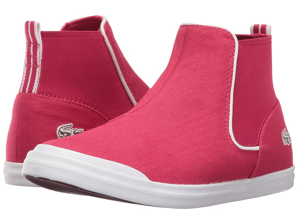 Lacoste Kids Lancelle Chelsea 316 1 SPC (Little Kid) (Dark Pink) Girl