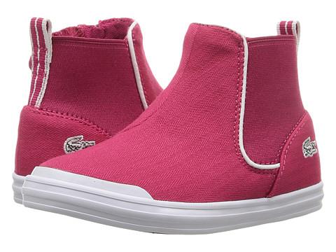 Lacoste Kids Lancelle Chelsea 316 1 SPI (Toddler/Little Kid) - Dark Pink