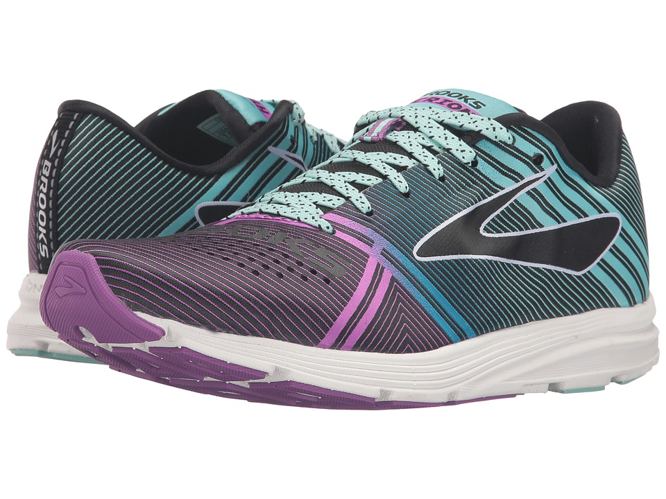 Brooks Hyperion (Black/Dewberry/Aruba Blue) Women