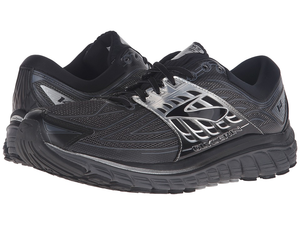 Brooks Glycerin 14 (Black/Anthracite/Silver) Men