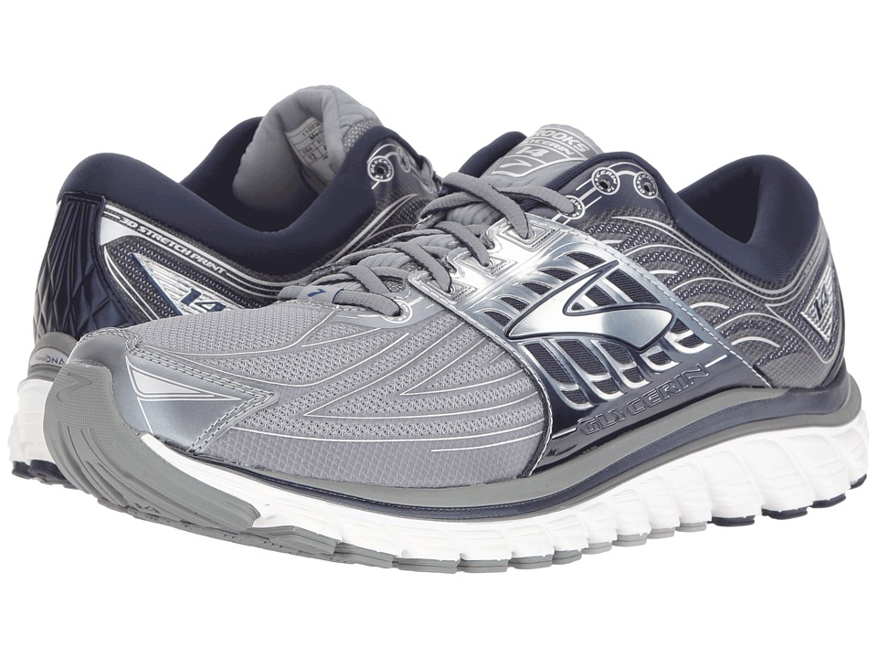 Brooks Glycerin 14 (Primer Grey/Peacoat Navy/Silver) Men