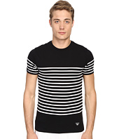 Armani Jeans - Stripped Crew Neck Tee