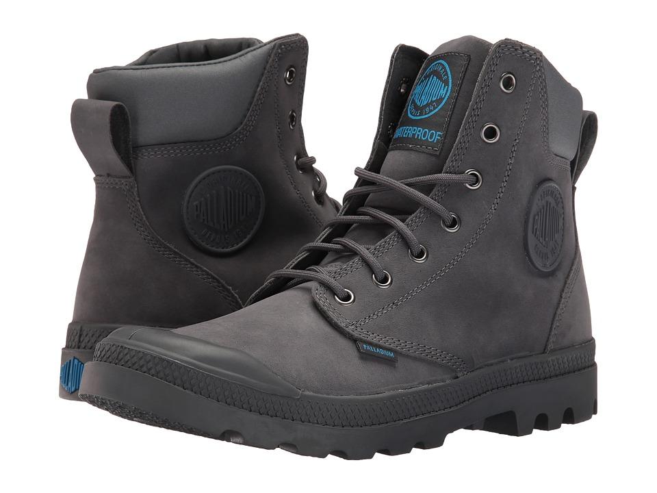 Palladium Pampa Cuff WP Lux (Iron Gate/Diva Blue) Boots