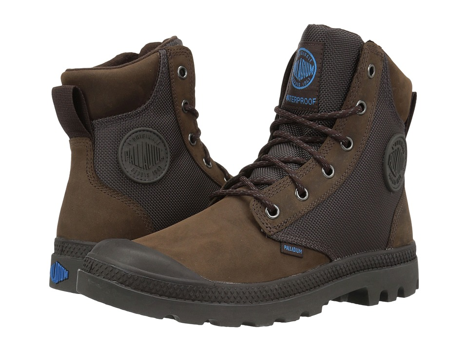 Palladium Pampa Sport Cuff WPN (Chocolate/Forged Iron) Boots